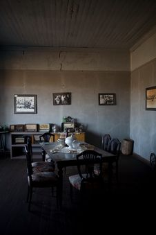 Abandoned City - Santa Laura And Humberstone Stock Photo