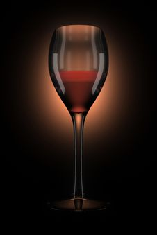 Free Wine In A Glass Stock Photo - 7939320
