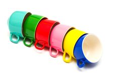 Free Color Cups Stock Image - 7939611