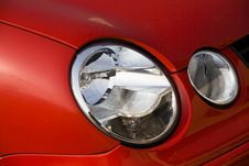 Free Car Headlight Royalty Free Stock Photos - 7939728