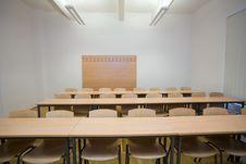 Free Empty Classroom Stock Photography - 7939732
