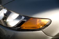 Free Car Headlight Royalty Free Stock Photography - 7939887