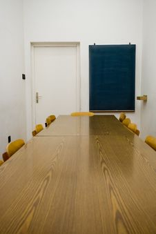 Free Empty Classroom Royalty Free Stock Photography - 7939917