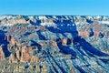 Free Grand Canyon Snow Stock Image - 7940191