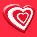 Free Valentines Red Heart Stock Photos - 7943463