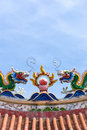 Free Chinese Temple Roof Decorations Stock Image - 7946441
