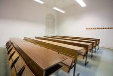 Free Empty Classroom Stock Photo - 7940700