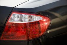 Car Tail Lights Royalty Free Stock Photography