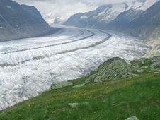 Free Aletsch Glacier Stock Photos - 7942853