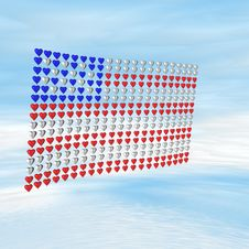 Free Stars & Stripes Stock Photography - 7942982