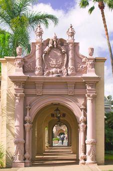 Free Balboa Park Archways Royalty Free Stock Photo - 7943125
