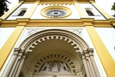 Free Medieval Church In Prague Stock Photography - 7943452