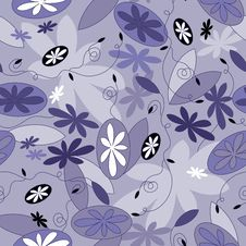Free Vector Seamless Pattern Royalty Free Stock Photography - 7943547