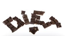 Free Chocolate Bar Royalty Free Stock Photo - 7943665