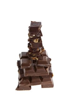 Free Chocolate Bar Royalty Free Stock Photos - 7943758