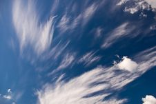 Free Cloudy Sky Stock Photography - 7944042