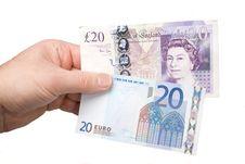 Free Exchanging Money Stock Photos - 7945353