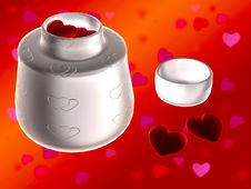 Free Love Pills With Background Royalty Free Stock Photos - 7945848