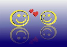 Free Love Smileys Stock Photo - 7945980