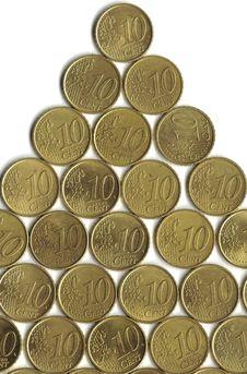 Free House Of Euro Coins Stock Photos - 7946033