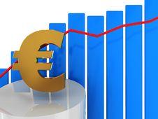 Free Euro And Diagram Stock Photo - 7946200