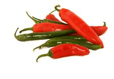Free Red And Green Pepper Stock Photos - 7946253