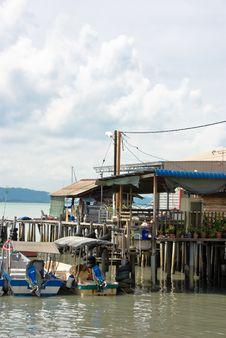 Free Old Fishing Pier Stock Image - 7946461