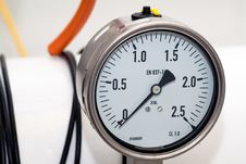 Free Pressure Gauge Royalty Free Stock Photography - 7946617