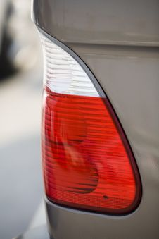 Car Tail Lights Stock Photography