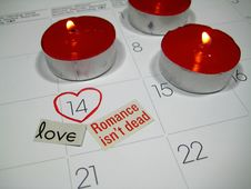 Free Valentine S Day, Calendar Royalty Free Stock Images - 7946849