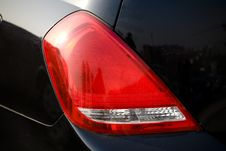 Car Tail Lights Stock Image