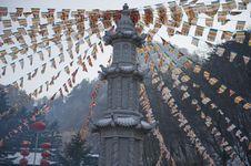 Buddha Tower Royalty Free Stock Photos