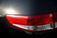 Free Car Tail Lights Royalty Free Stock Photography - 7947367