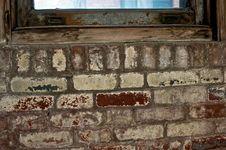 Free Brick Under Window Stock Photography - 7947392