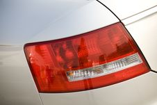 Free Car Tail Lights Stock Photography - 7947402