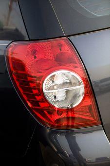Car Tail Lights Stock Photos