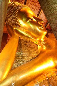 Free Reclining Buddha Image. Stock Photography - 7947922
