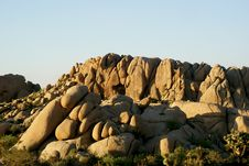 Free Rock Formation In Joshua Tree National Park Stock Photos - 7947923