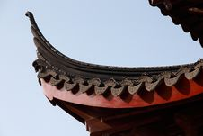 Free Chinese Classical Architecture Eaves Royalty Free Stock Image - 7948186
