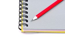 Free Notepad And Pencil Stock Photography - 7948272