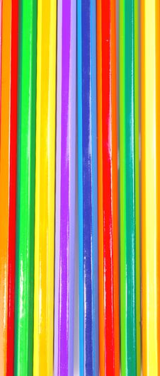 Free Colored Pencils Royalty Free Stock Photo - 7948345