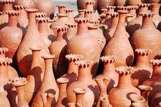 Free Earthen Pots Stock Images - 7948494