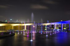 Free Fountains At Night Stock Photo - 7948630