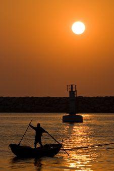 Free Peaceful Sunset Stock Image - 7949161