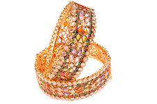 Free Golden Bracelets Stock Image - 7949711