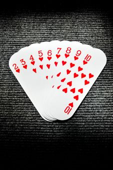 Free Playing Cards Stock Photography - 7949852