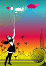 Free Angel Girl Royalty Free Stock Image - 7952716
