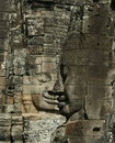 Free Stone Sculpture In Bayon Wat,Siem Reip,Cambodia Stock Image - 7954971