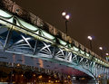 Free Highlighted Bridge Over The River Stock Photos - 7956523