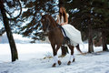 Free Woman On A Horse Royalty Free Stock Images - 7959299